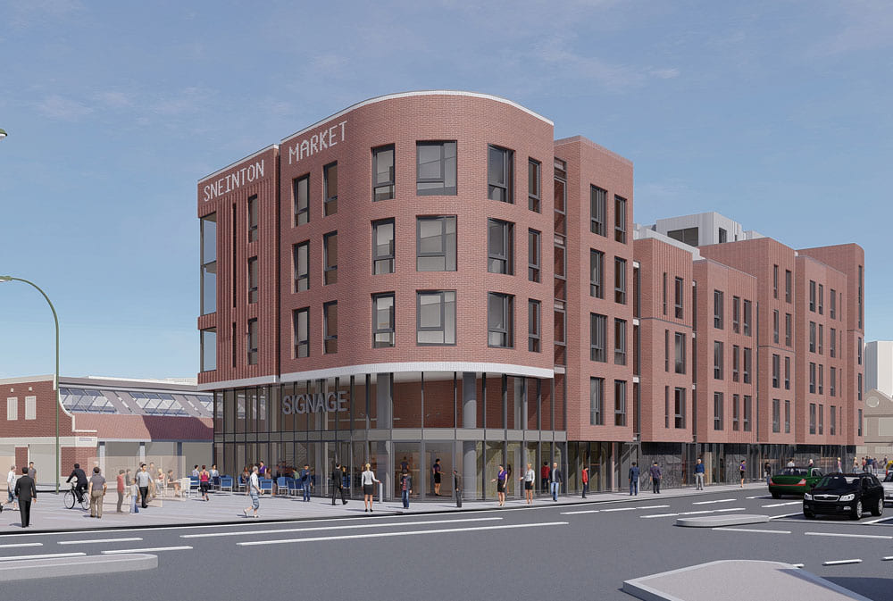 TSK appointed on Nottingham's Sneinton Market scheme
